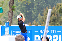 Alexander Bj&ouml;rk (SWE) in action during the final round of the Volvo China Open played at Topwin Golf and Country Club, Huairou, Beijing, China 26-29 April 2018.<br /> 29/04/2018.<br /> Picture: Golffile | Phil Inglis<br /> <br /> <br /> All photo usage must carry mandatory copyright credit (&copy; Golffile | Phil Inglis)