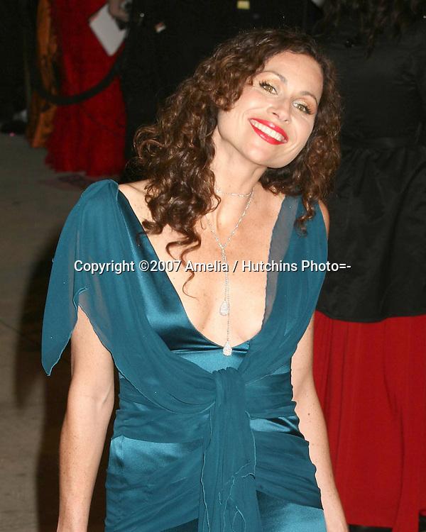 Minnie Driver.79th Academy Awards, 2007.Kodak Theater.Los Angeles, CA.February 25, 2007.©2007 Amelia / Hutchins Photo....                 Minnie Driver.2007 Vanity Fair Oscar Party.Mortons Resturant.W Hollywood, CA.February 25, 2007.©2007 Amelia / Hutchins Photo....