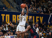 CAL (W) Basketball vs Arizona, January 18, 2015