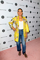 LOS ANGELES - AUG 12:  Goapele at the 5th Annual Beautycon Festival Los Angeles at the Los Angeles Convention Center on August 12, 2017 in Los Angeles, CA