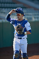 Tre Todd (11) of the Ogden Raptors before the game against the Missoula Osprey at Lindquist Field on July 12, 2018 in Ogden, Utah. Missoula defeated Ogden 11-4. (Stephen Smith/Four Seam Images)