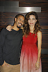 Joyce Becker's Soap Opera Festival brings actors from Young and Restless - Amelia Heinle & Bryton James on September 26, 2015 to Caesers Horseshoe Casino in Baltimore, Maryland for a Q&A with fans with a drawing for lucky fans to meet the actors for autographs and photos.  (Photo by Sue Coflin/Max Photos)