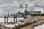 Fishing town of Wachapreague, Virginia, USA