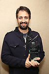 Lin-Manuel Miranda Recipient of the 2018 Rosetta LeNoire Award at Actors' Equity Office on April 23, 2018 in New York City.