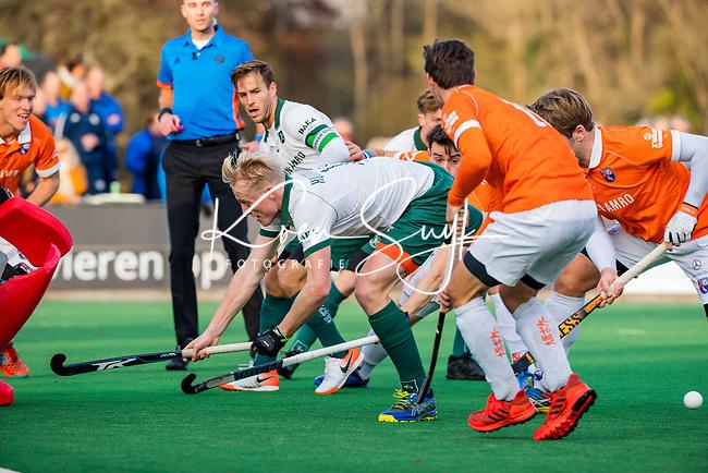 BLOEMENDAAL - Tjep Hoedemakers (Rdam)  tijdens  hoofdklasse competitiewedstrijd  heren , Bloemendaal-Rotterdam (1-1) .COPYRIGHT KOEN SUYK