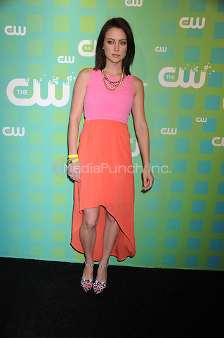 Jessica Stroup at The CW Network's 2012 Upfront at New York City Center on May 17, 2012 in New York City. . Credit: Dennis Van Tine/MediaPunch