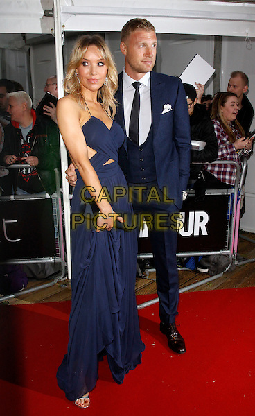 LONDON, ENGLAND - JUNE 02 :  Rachael and Andrew Flintoff arrive at the Glamour Women Of The Year Awards at Berkeley Square Gardens on June 02, 2015 in London, England.<br /> CAP/AH<br /> &copy;AH/Capital Pictures