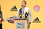 13 January 2011: Los Angeles Galaxy selected Paolo Cardozo (URU) with the #16 overall pick. The 2011 MLS SuperDraft was held in the Ballroom at Baltimore Convention Center in Baltimore, MD during the NSCAA Annual Convention.