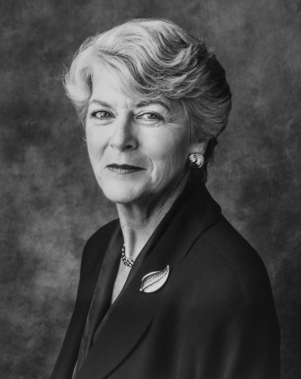 Former Ambassador to the United Nations Commission on Human Rights, Geraldine Ferraro, in October, 1997. (Photo by Laura Patterson/CQ Roll Call via Getty Images)