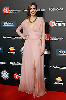 Spanish actress Aina Clotet during Barcelona 5th AIDS Ceremony. November 24,2014.(ALTERPHOTOS/Acero) /NortePhoto<br />