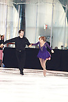 Also skating is Fashion designer Nicole Miller competes in skating with Andrew Lavrik at Ice Theatre of New York - The Nation's Premier Ice Dance Ensemble hosts Spring Fling Celebrity Skate 2012 on May 17, 2012 at Sky Rink at Chelsea Piers, New York City, New York. (Photo by Sue Coflin/Max Photos)