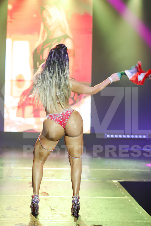 CIDADE DO MÉXICO, MÉXICO, 30.09.2019 - MISS-BUMBUM - Sheyla Mell  durante a final do concurso Miss Bumbum World na  ForoTotal Play na Cidade do México na capital mexicana nesta segunda-feira, 30.  (Foto: William Volcov/Brazil Photo Press)