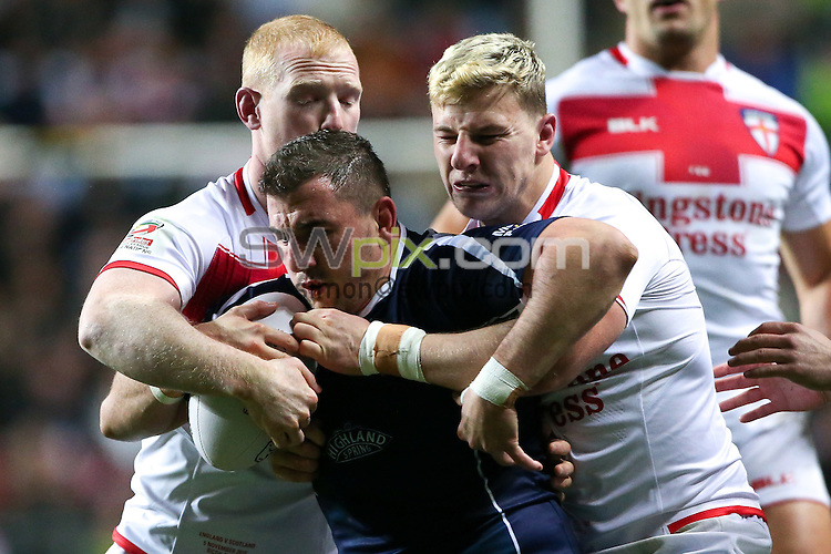 Picture by Alex Whitehead/SWpix.com - 05/11/16 - Rugby League - 2016 Ladbrokes Four Nations - England v Scotland - Ricoh Arena, Coventry, England - Scotland's Adam Walker.