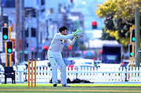 Tom Blundell. Day two of the Plunket Shield cricket match between Wellington Firebirds and Northern Districts in Wellington, New Zealand on Monday, 26 March 2018. Photo: Dave Lintott / lintottphoto.co.nz