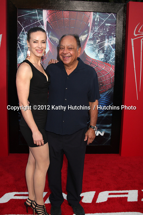 """LOS ANGELES - JUN 28:  Cheech Marin arrives at the """"The Amazing Spider-Man"""" Premiere at Village Theater on June 28, 2012 in Westwood, CA"""