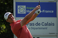Calum Hill (SCO) in action during previews ahead of the Hauts de France-Pas de Calais Golf Open, Aa Saint-Omer GC, Saint- Omer, France. 12/06/2019<br /> Picture: Golffile | Phil Inglis<br /> <br /> <br /> All photo usage must carry mandatory copyright credit (© Golffile | Phil Inglis)