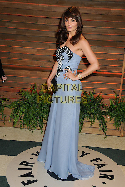 02 March 2014 - West Hollywood, California - Helena Christensen. 2014 Vanity Fair Oscar Party following the 86th Academy Awards held at Sunset Plaza. <br /> CAP/ADM/BP<br /> &copy;Byron Purvis/AdMedia/Capital Pictures