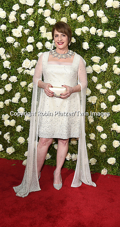 Patti LuPone attends the 71st Annual  Tony Awards on June 11, 2017 at Radio City Music Hall in New York, New York, USA.<br /> <br /> photo by Robin Platzer/Twin Images<br />  <br /> phone number 212-935-0770