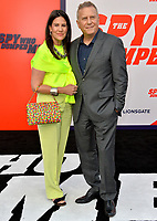 Paul Reiser &amp; Paula Ravets  at the world premiere for &quot;The Spy Who Dumped Me&quot; at the Fox Village Theatre, Los Angeles, USA 25 July 2018<br /> Picture: Paul Smith/Featureflash/SilverHub 0208 004 5359 sales@silverhubmedia.com