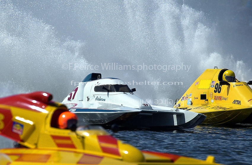 S-83, S-57 and S-96     (2.5 Litre Stock hydroplane(s)