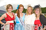 Kerry Rose Karen McGillicuddy having fun at the races with l-r: Patrice, Karen McGillicuddy Killorglin, Michelle Darcy Knocknagoshel and Sarah Jane Bennett Killorglin.