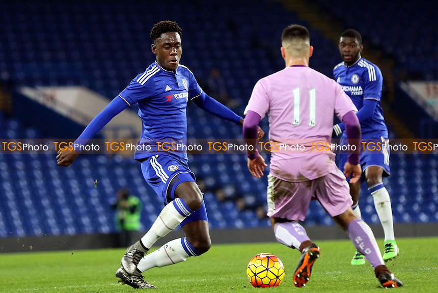 Trevoh Chalobah of Chelsea in action during Chelsea Youth vs Reading Youth, FA Youth Cup Football at Stamford Bridge