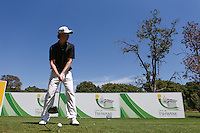 Justin Harding (RSA) on the 4th tee during the practice day ahead of the Tshwane Open 2015 at the Pretoria Country Club, Waterkloof, Pretoria, South Africa. Picture:  David Lloyd / www.golffile.ie. 10/03/2015