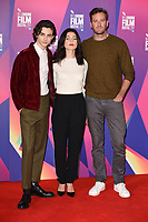 Timothee Chalamet, Esther, Garrel and Armie Hammer<br /> at the London Film Festival 2017 photocall for the film &quot;Call Me by Your Name&quot; at the Mayfair Hotel, London<br /> <br /> <br /> &copy;Ash Knotek  D3326  09/10/2017