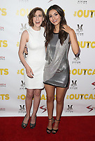 "13 April 2017 - Los Angeles, California - Eden Sher, Victoria Justice. Premiere Of Swen Group's ""The Outcasts"" held at the Landmark Regent."
