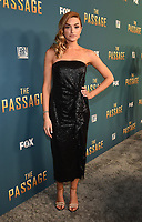 "SANTA MONICA - JANUARY 10: Brianne Howey attends the red carpet premiere party for FOX's ""The Passage"" at The Broad Stage on January 10, 2019, in Santa Monica, California. (Photo by Frank Micelotta/Fox/PictureGroup)"