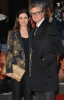 Livia Firth and Colin Firth at the &quot;The Mercy&quot; world film premiere, Curzon Mayfair cinema, Curzon Street, London, England, UK, on Tuesday 06 February 2018.<br /> CAP/CAN<br /> &copy;CAN/Capital Pictures