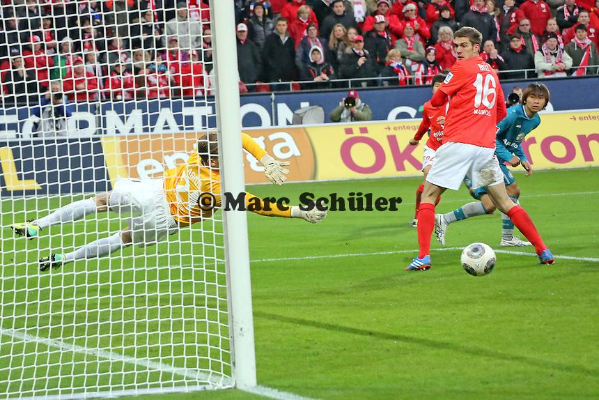 Parade von Loris Karius (Mainz)- 1. FSV Mainz 05 vs. Eintracht Frankfurt, Coface Arena, 12. Spieltag
