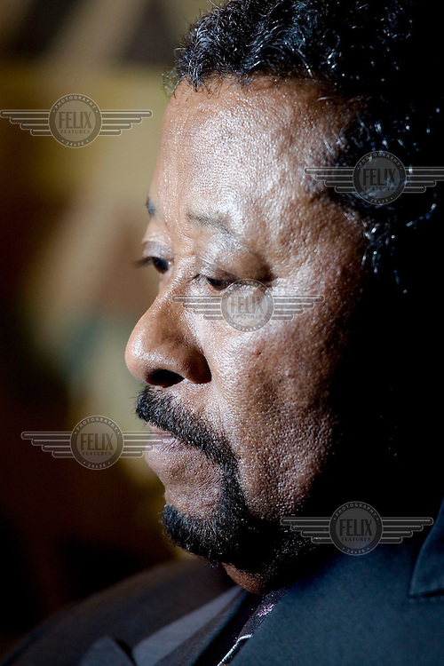 Jean Ping, a Gabonese diplomat and politician who is currently the Chairperson of the Commission of the African Union (AU).