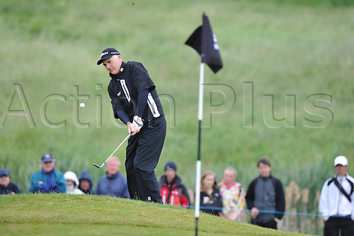 05.06.2011Philip Price (WAL)  in action during round 4 of the  Saab Wales Open Golf Championship from Celtic Manor on the Twenty Ten Course in Newport Gwent Wales.