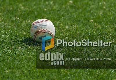 5 March 2015: A Rawlings baseball with the new MLB Commissioner Rob Manfred's signature lies on the grass prior to a Spring Training game against the New York Mets at Space Coast Stadium in Viera, Florida. The Nationals rallied to defeat the Mets 5-4 in Grapefruit League play. Mandatory Credit: Ed Wolfstein Photo *** RAW (NEF) Image File Available ***