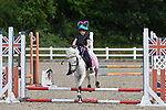 Class 2. Unaffiliated showjumping. Brook Farm Training Centre. Essex. UK. 06/07/2019. ~ MANDATORY Credit Garry Bowden/Sportinpictures - NO UNAUTHORISED USE - 07837 394578
