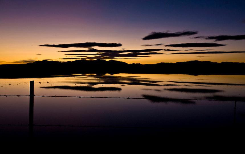 Willard Bay Sunset - Northern Utah