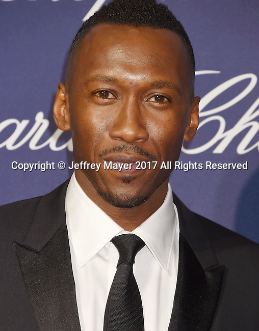 PALM SPRINGS, CA - JANUARY 02: Actor Mahershala Ali attends the 28th Annual Palm Springs International Film Festival Film Awards Gala at the Palm Springs Convention Center on January 2, 2017 in Palm Springs, California.