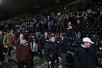 Home players making their way from the stadium after Derby County played Stoke City in an EFL Championship match at Pride Park Stadium. Opened in 1997, it is the 16th-largest football ground in England and the 20th-largest stadium in the United Kingdom. The fixture ended in a 0-0 draw watched by a crowd of 25,685.