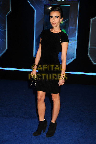 "ELODIE BOUCHEZ .""TRON: Legacy"" L.A. Premiere held at the El Capitan Theatre, Hollywood, California, USA, 11th December 2010..full length dress black ankle boots .CAP/ADM/BP.©Byron Purvis/AdMedia/Capital Pictures."