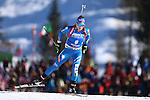 10/02/2017, Hochfilzen - IBU World Championships Biathlon 2017 Hochfilzen.<br /> Women 7.5 km Sprint race in Hochfilzen, Austria on February 10, 2017. Federica Sanfilippo