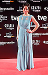 TV presenter Usun Yoon attends Goya Cinema Awards 2014 red carpet at Centro de Congresos Principe Felipe on February 9, 2014 in Madrid, Spain. (ALTERPHOTOS/Victor Blanco)