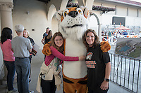Occidental College alumni, students and their families celebrate at the Celebration of Oxy Athletics during Family Weekend & Homecoming, Oct. 22, 2016 in the Taylor Pool area.<br />