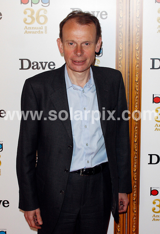 **ALL ROUND PICTURES FROM SOLARPIX.COM**.**WORLDWIDE SYNDICATION RIGHTS**.arrives at the Broadcasting Press Guild (BPG) Television & Radio Awards at the Theatre Royal, Drury Lane in London, UK. 26 March 2010. ..This pic: Andrew Marr ..JOB REF: 10987 LNJ     DATE: 26_03_2010.**MUST CREDIT SOLARPIX.COM OR DOUBLE FEE WILL BE CHARGED**.**MUST NOTIFY SOLARPIX OF ONLINE USAGE**.**CALL US ON: +34 952 811 768 or LOW RATE FROM UK 0844 617 7637**