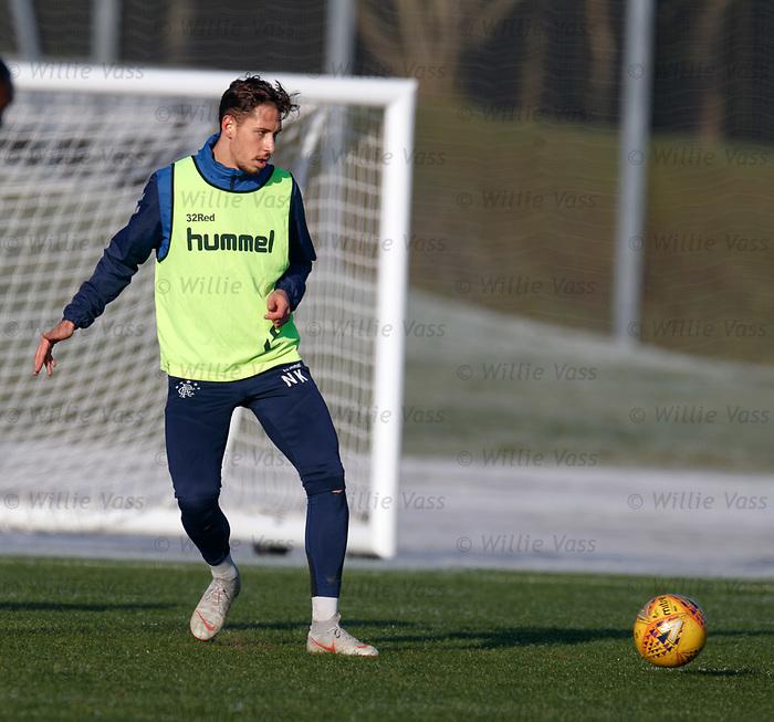 01.02.2019: Rangers training: Nikola Katic