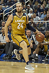 California Baptist forward  Mike Henn (24) against Nevada in the second half of an NCAA college basketball game in Reno, Nev., Monday, Nov. 19, 2018. (AP Photo/Tom R. Smedes)