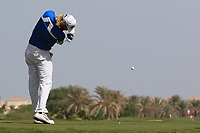 Sebastian Soderberg (SWE) during the final round of the Ras Al Khaimah Challenge Tour Grand Final played at Al Hamra Golf Club, Ras Al Khaimah, UAE. 03/11/2018<br /> Picture: Golffile | Phil Inglis<br /> <br /> All photo usage must carry mandatory copyright credit (&copy; Golffile | Phil Inglis)
