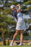 Jin Young Ko (KOR) watches her tee shot on 3 during round 3 of the 2018 KPMG Women's PGA Championship, Kemper Lakes Golf Club, at Kildeer, Illinois, USA. 6/30/2018.<br /> Picture: Golffile | Ken Murray<br /> <br /> All photo usage must carry mandatory copyright credit (&copy; Golffile | Ken Murray)