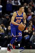 17th January 2019, The O2 Arena, London, England; NBA London Game, Washington Wizards versus New York Knicks; Kevin Knox of the New York Knicks
