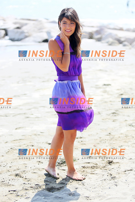 Venice, Italy - August 28: Alessandra Mastronardi poses on the beach, during the 71st Venice Film Festival on August 28, 2014 in Venice, Italy. (Photo by Mark Cape/Inside)<br /> Venezia, Italy - Agosto 28: Alessandra Mastronardi posa in spiaggia, durante del 71st Venice Film Festival. Agosto 28, 2014 Venezia, Italia. (Photo by Mark Cape/Inside Foto)